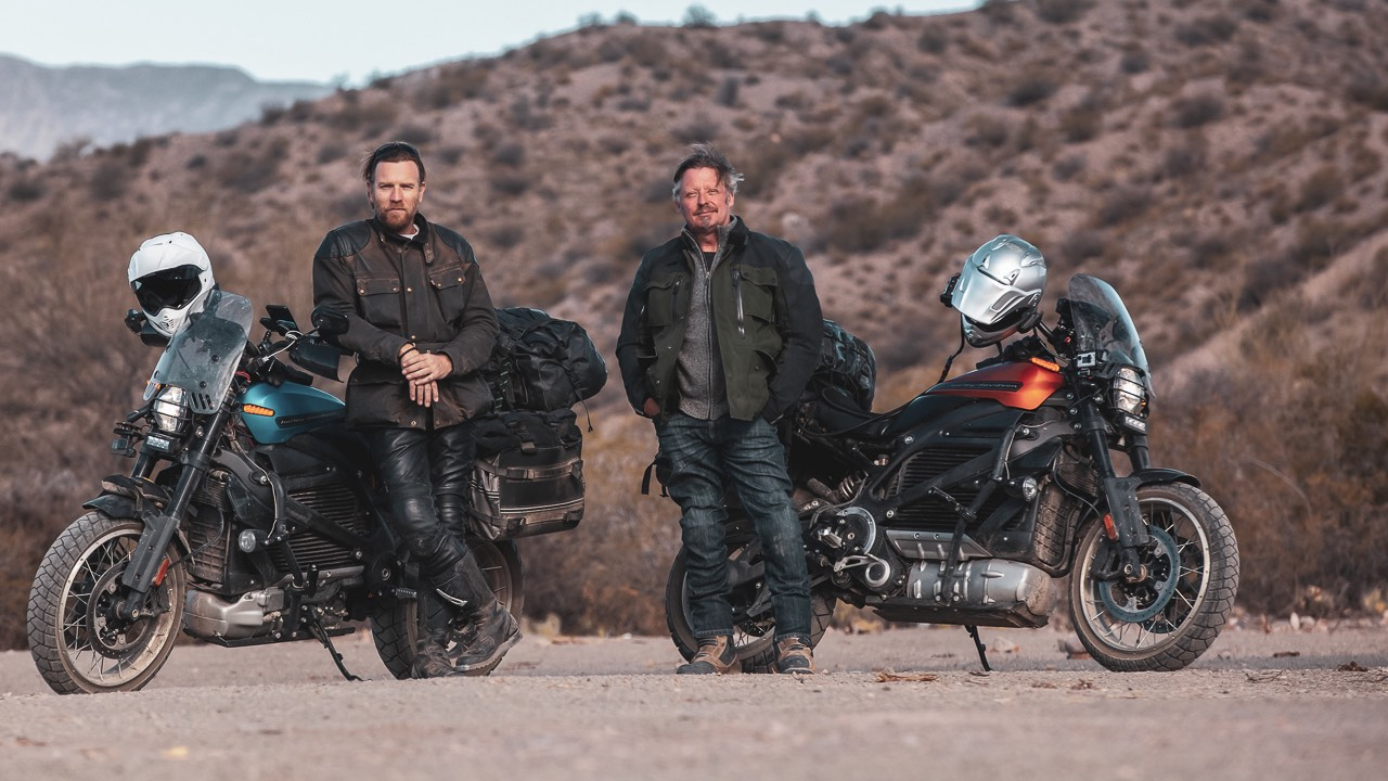 Long Way Up Charley Boorman and Ewan McGregor