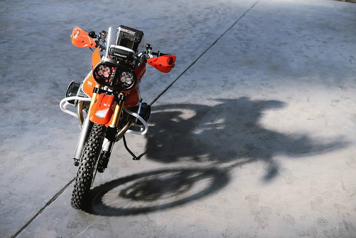 Roland Sands Design - Dakar GS front-on