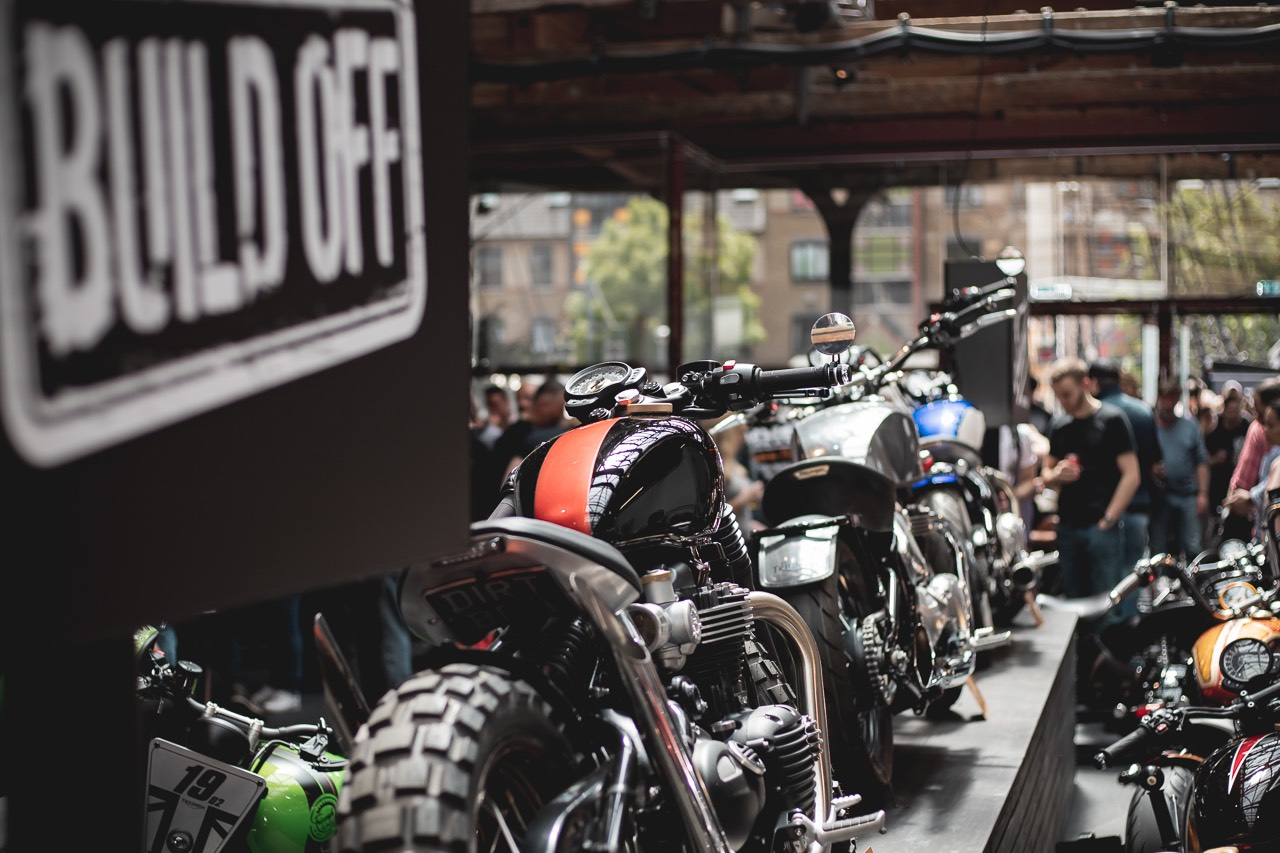 Triumph Bobber Build-off at the Bike Shed 2019