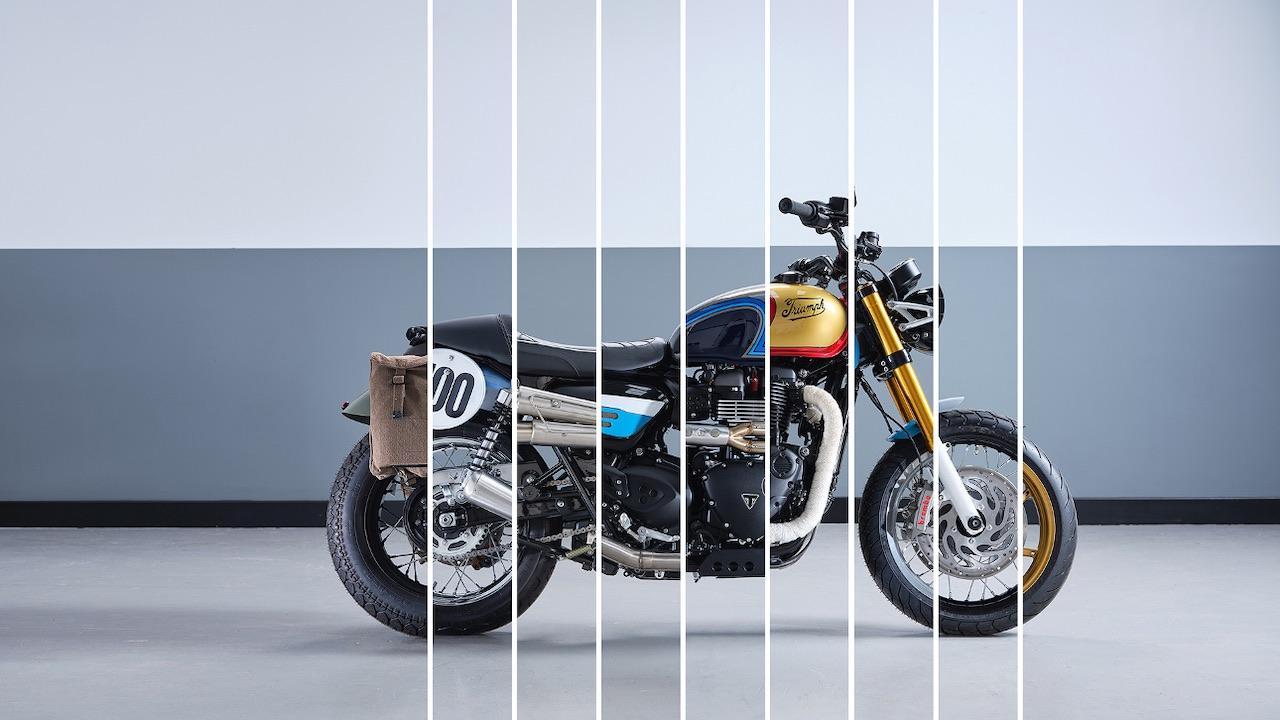 Triumph Bonneville Custom Build Off Competition